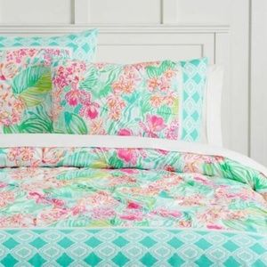 Lilly Pulitzer Pottery Barn Kids Via Flora Sham